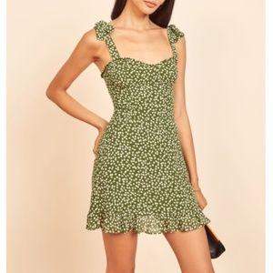 NEW!! Reformation Christine Mini Dress - Moiret